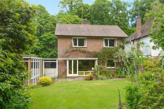 1950s Ren Fer-designed midcentury property in Chorleywood, Hertfordshire