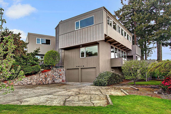 On the market: 1950s midcentury modern property in Federal Way, Washington State, USA