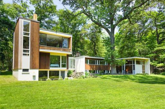 On the market: 1940s Norman and Jean Fletcher-designed modernist property in Lexington, Massachusetts, USA