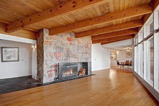 1950s midcentury modern property in Federal Way, Washington State, USA