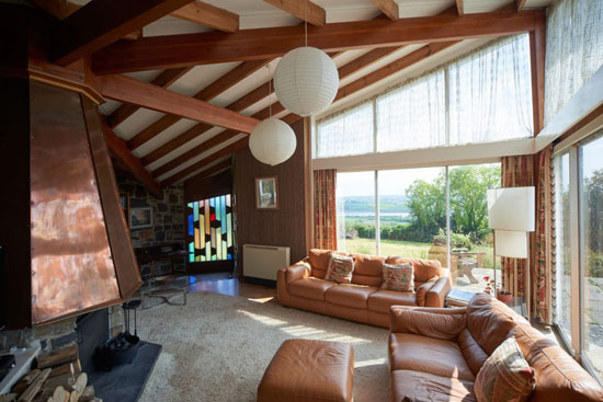 1960s Reginald Gale-designed midcentury modern property in Barnstaple, Devon