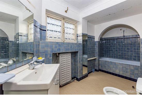1930s art deco renovation project in Uccle, Belgium