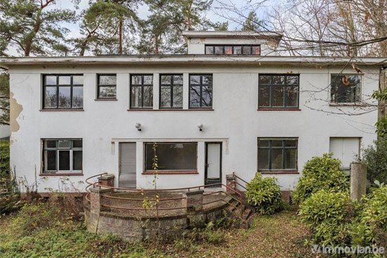 1930s art deco renovation project in Uccle, Belgium