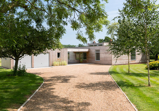 On the market: 1960s John Penn-designed modernist property in Rendham, Suffolk