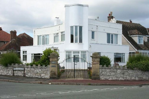 On the market: Six-bedroomed 1930s art deco property in Rhos-on-Sea, Colwyn Bay, North Wales