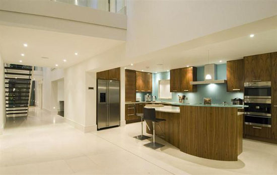 Four-bedroom contemporary modernist property in Richmond, Surrey