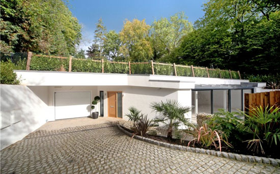 On the market: Individual architect-designed eco home in Rickmansworth, Hertfordshire