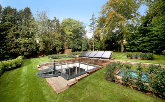 Individual architect-designed eco home in Rickmansworth, Hertfordshire