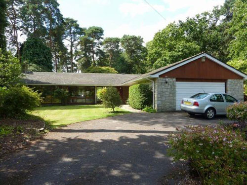 On the market: 1960s ranch-style bungalow in Ashley Heath, near Ringwood, Hampshire