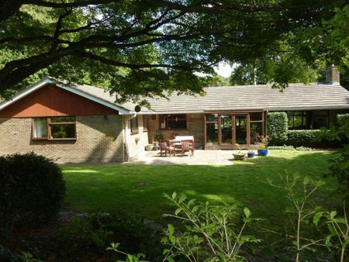 1960s ranch-style bungalow in Ashley Heath, near Ringwood, Hampshire
