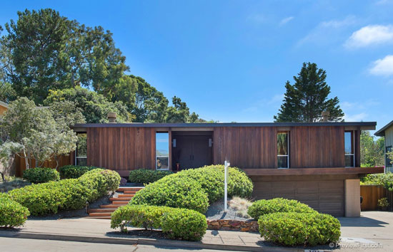 On the market: 1960s Ronald Davis-designed midcentury property in San Diego, California, USA
