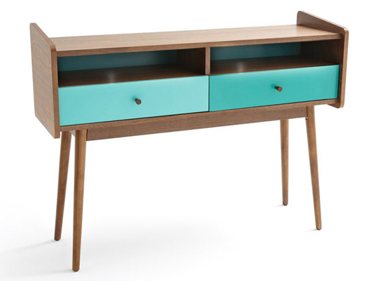 Midcentury interior: 1960s-style Ronda furniture at La Redoute