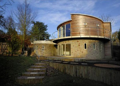 On the market: Four-bedroom circular house in Inkberrow, Worcestershire