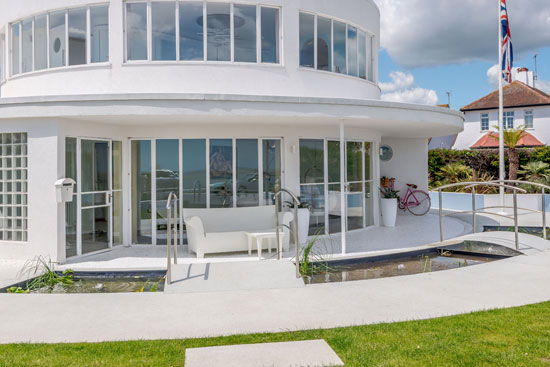 The Round House Oliver Hill art deco property in Frinton-on-Sea, Essex