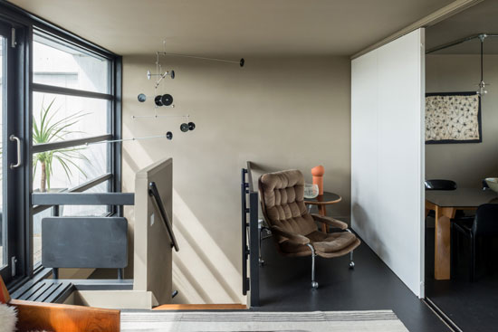 1960s Neave Brown brutal apartment on Rowley Way, London NW8
