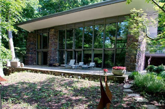 On the market: 1960s Paul Rudolph-designed midcentury modern property in Newtown, Pennsylvania, USA