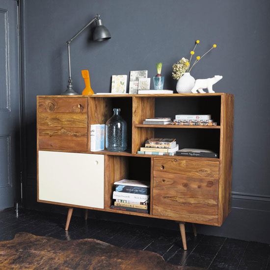 midcentury interior andersen sideboard range at maisons du monde. Black Bedroom Furniture Sets. Home Design Ideas