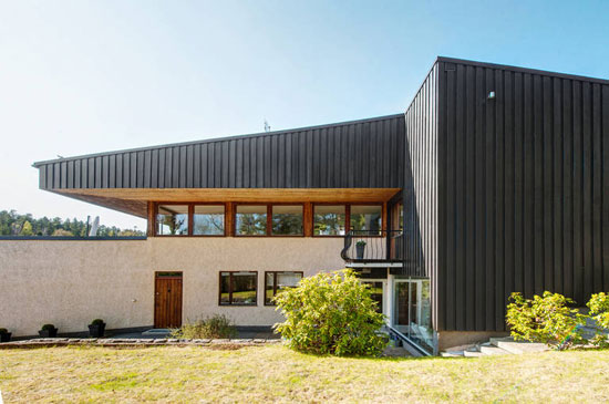 On the market: 1970s modernist property in Saltsjo-Boo, near Stockholm, Sweden