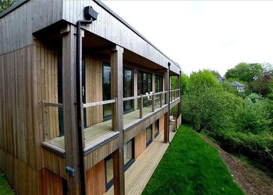 Birch House contemporary modernist property near Bath, Somerset