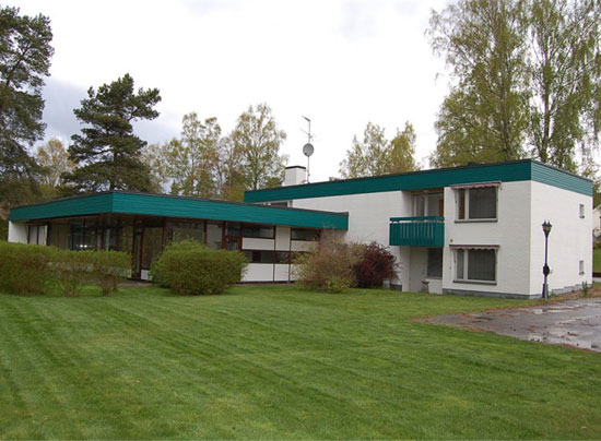 11. 1960s modernist property in Hultsfred, Sweden