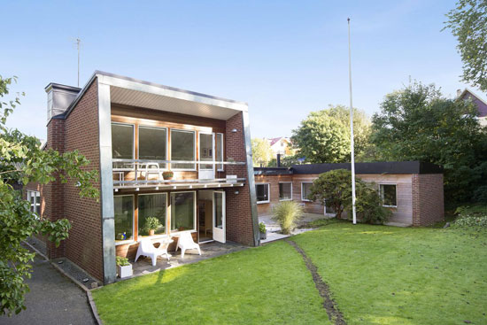 1960s P. Tygesen-designed modernist property in Gothenburg, Sweden