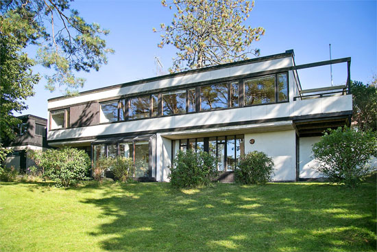 1960s architect designed modernist property in trollasen sweden