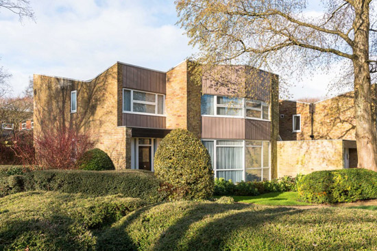 On the market: 1960s Eric Lyons-designed Span House in New Ash Green, Kent
