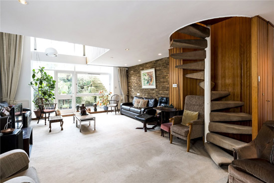On the market: 1970s Ted Levy-designed apartment in Haverstock Hill, London NW3