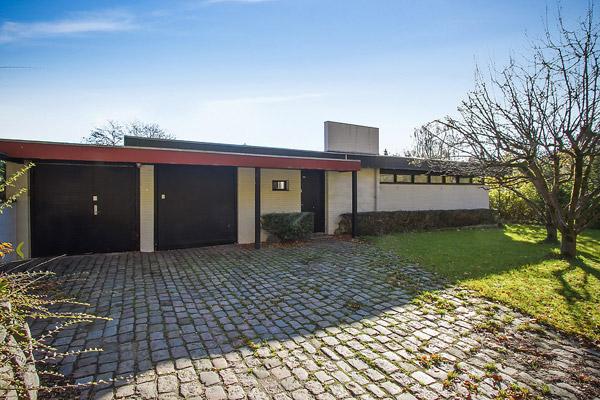 19. 1950s Kjeld Dirckinck-Holmfel midcentury modern property in Aalborg, Denmark