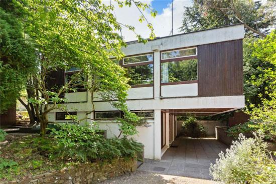1960s modern house in Sandyford, Dublin, Ireland