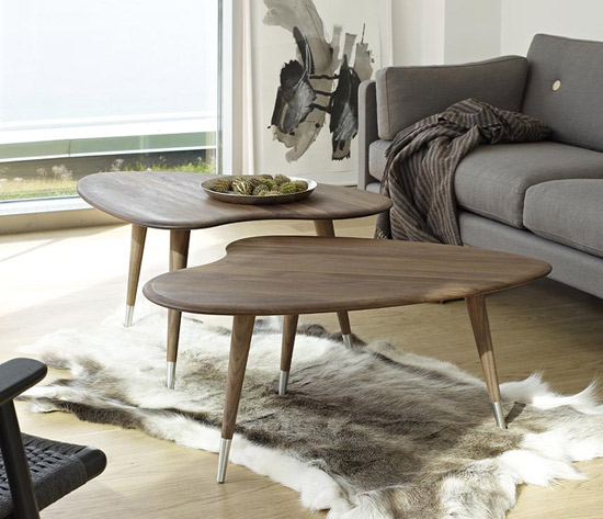 Design spotting: Strawberry Retro tables by Danish Retro