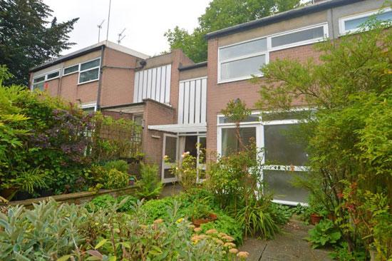 1960s modernism: Andrews, Emerson, Sherlock & Keable-designed townhouse in London N6