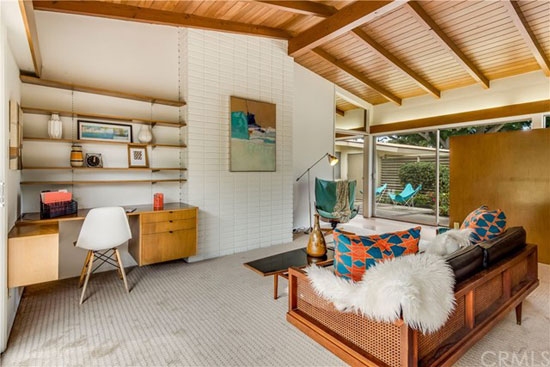 1950s midcentury modern: Paul Tay-designed Strum Residence in Long Beach, California, USA