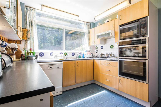 1960s Peter F. Smith modernist property in Sheffield, South Yorkshire