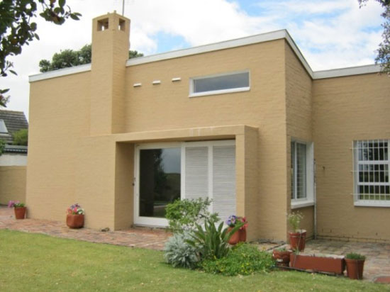On the market: 1960s Revel Fox-designed three-bedroom house in Milnerton, near Cape Town, South Africa
