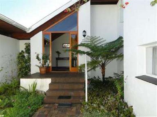 1960s architect-designed property in Dalsig, Stellenbosch, Western Cape, South Africa