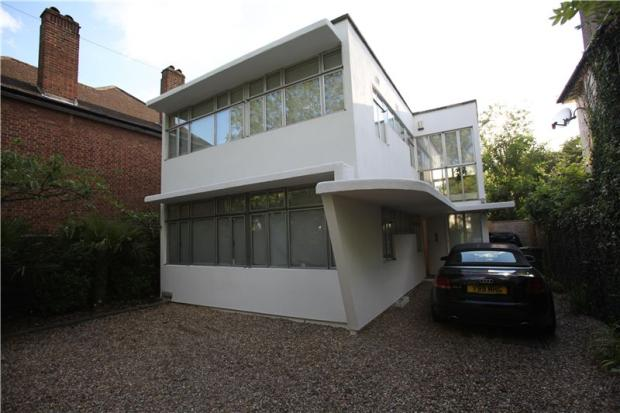 Kingston Upon Thames Surrey 1930s Connell Ward And Lucas Designed Grade II Listed Modernist House In Worcester