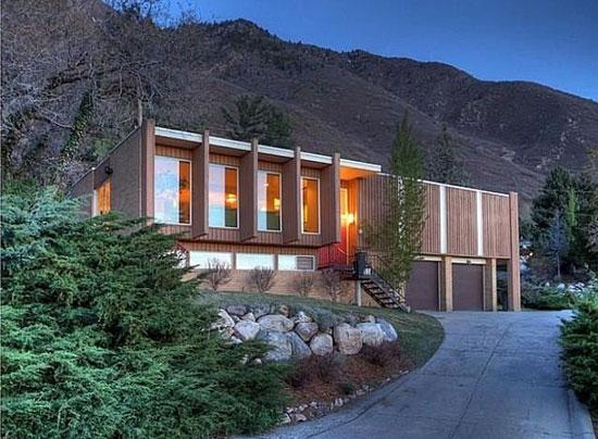 On the market: 1960s midcentury modern property in Salt Lake City, Utah, USA