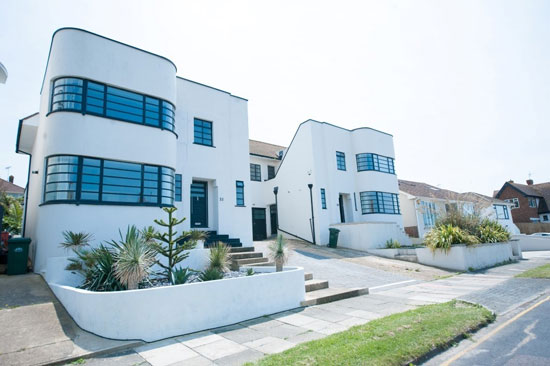 1930s E. William Palmer-designed art deco property in Brighton, East Sussex