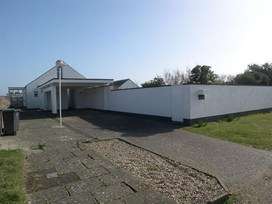 Lighthouse 1960s architect-designed five-bedroom property in Sandwich Bay, Kent