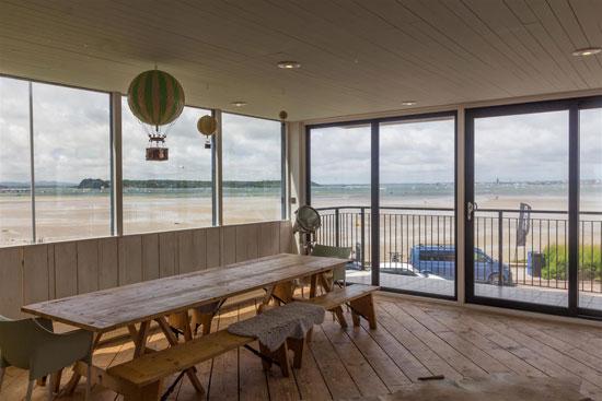 George Best's modern house in Sandbanks, Poole, Dorset