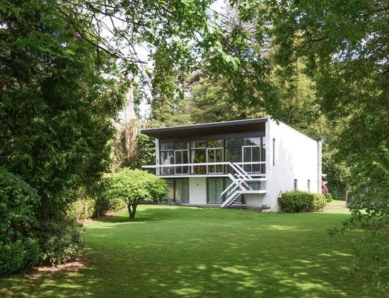 Sarnico 1960s modernist property in Windermere, Cumbria
