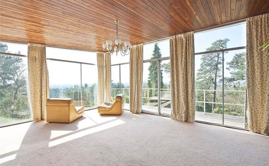 1960s midcentury property in Weybridge, Surrey