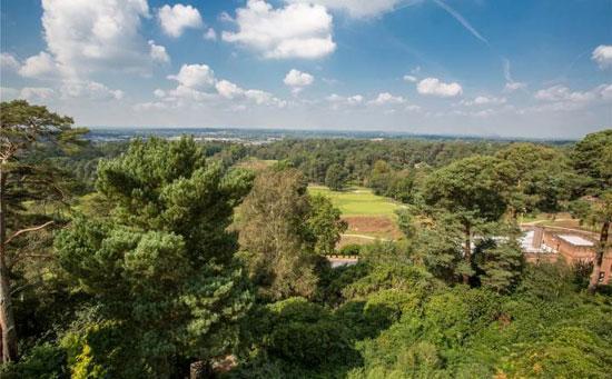 1960s midcentury property in Weybridge, Surrey