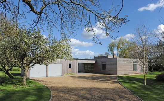 Back on the market: Church Meadow 1960s John Penn-designed midcentury property in Saxmundham, Suffolk