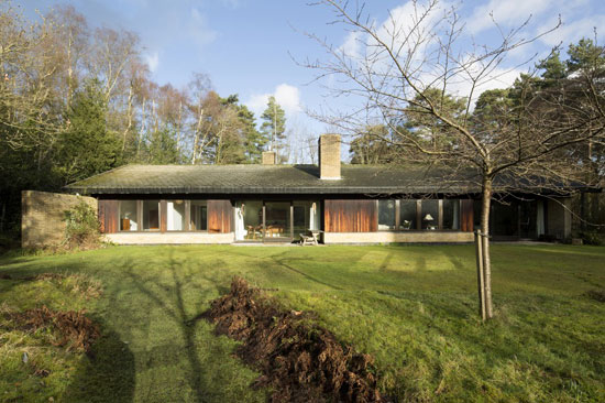 On the market: 1960s Aage & Carol Moller-designed Scandinavian-style property in Plummers Plain, West Sussex