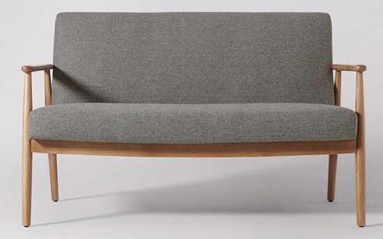 Karina Scandinavian-style sofa at Swoon Editions