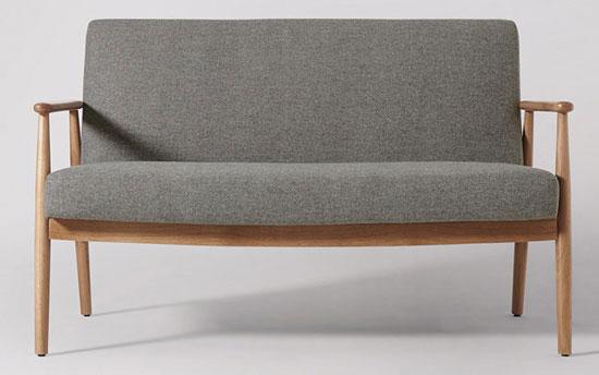 Karina Scandinavian-style sofa at Swoon Editions