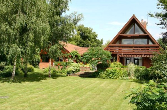 On the market: 1970s five-bedroom Scandinavian-style property in Barrington, Cambridgeshire