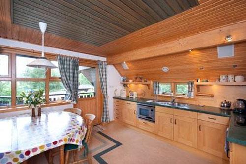 RachanHus three-bedroom Scandinavian-style property in Broughton, Peeblesshire, Scotland